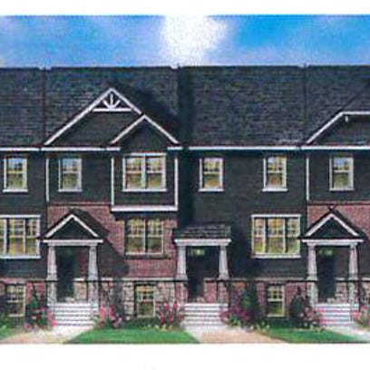 A builder has proposed new townhomes on what is now
