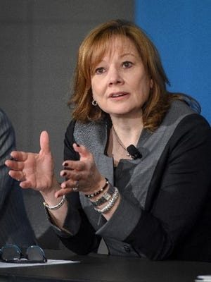 General Motors CEO Mary Barra
