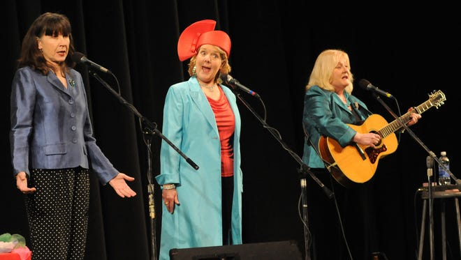 The Chenille Sisters perform Monday, Dec 8, during the Port Huron Town Hall Lecture Series at McMorran Theater.