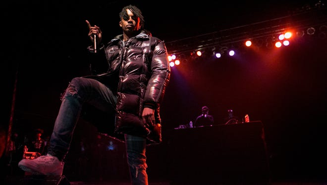 Atlanta rapper Playboi Carti opened for Gucci Mane at the Eagles Ballroom Thursday, less than three hours before dropping his debut full-length project.