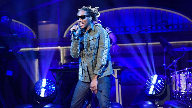 Future performs on 'Saturday Night Live' March 5, 2016