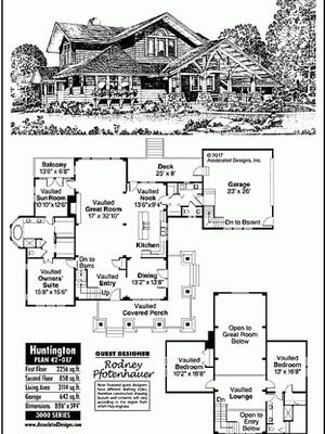 huntington house plan
