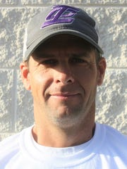 Irion County head football coach David Waddell, from