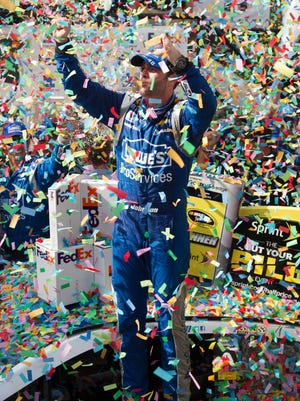Jimmie Johnson has 74 career Cup wins, two behind Hall of Famer Dale Earnhardt Sr.