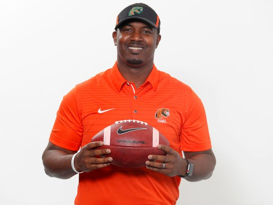 New FAMU head coach Willie Simmons.