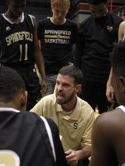 Springfield boys basketball coach Micah Rochester talks