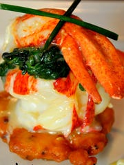 Lobster Napoleon from Boo's Blues Bistro