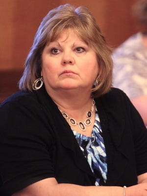 Tina Seckerson, pictured as then-clerk of the board in 2011.