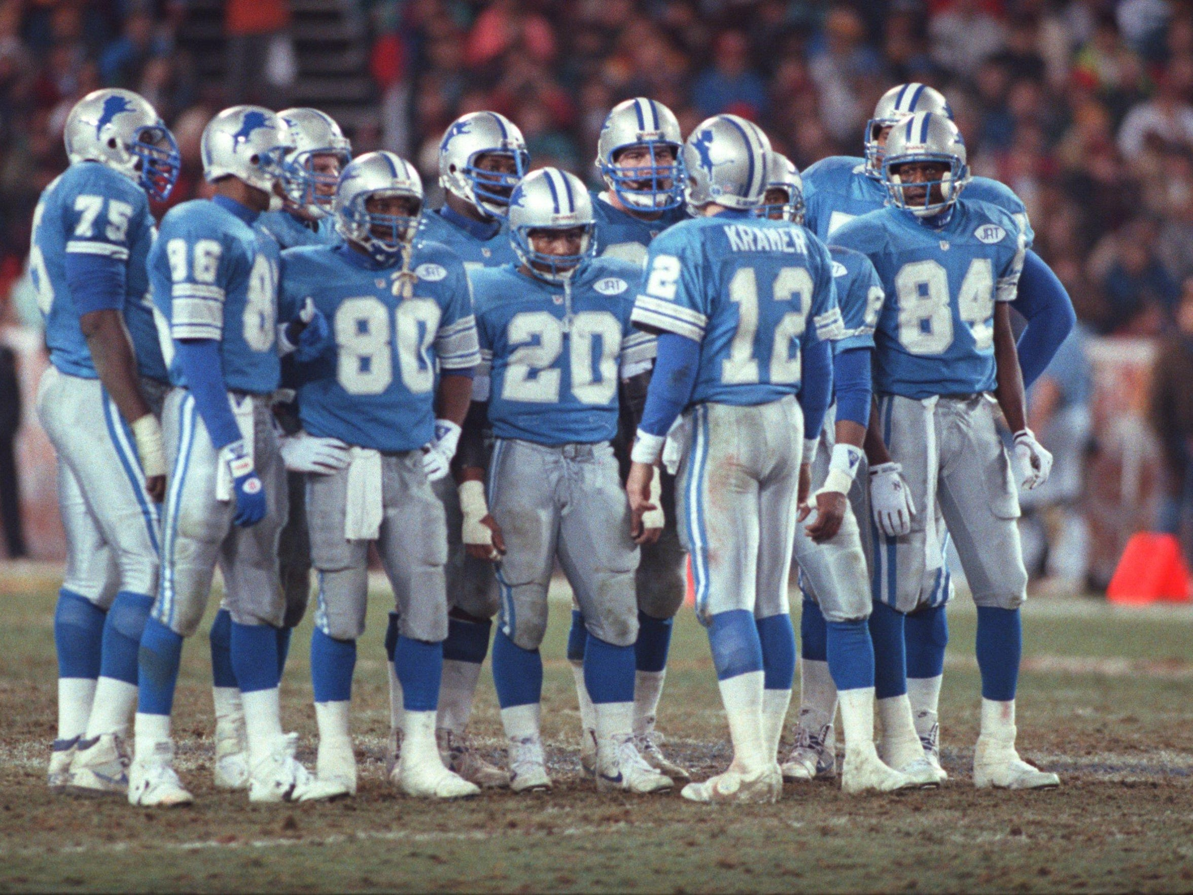 The Lions were no match for the Redskins in the 1991