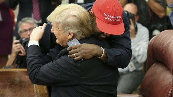 """On Oct. 11, he joined his """"brother"""" President Trump"""