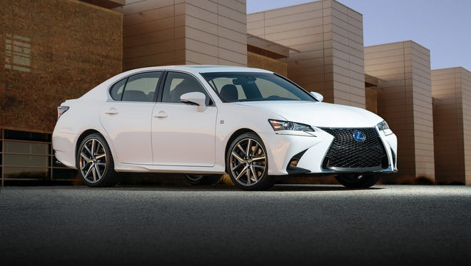 2016 Lexus GS sedan