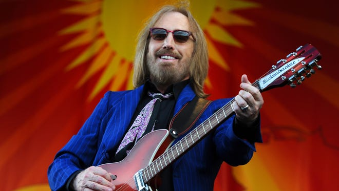 Tom Petty performs on the Acura Stage at the New Orleans Jazz and Heritage Festival on April 28, 2012. Musician Tom Petty died after suffering a cardiac arrest Oct. 2, 2017 at UCLA Santa Monica Hospital in Santa Monica, Calif. Petty was found unconscious Sunday night at his home in Malibu. He was 66.