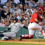 Ortiz's 521st career HR not enough for Red Sox