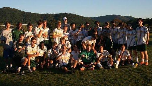 The Christ School soccer team.