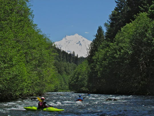 Upper North Santiam River