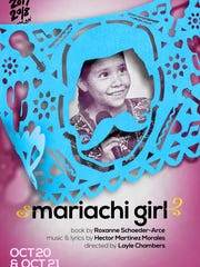 """Mariachi Girl"" is a bilingual musical play about a young girl who dreams of being a mariachi singer."