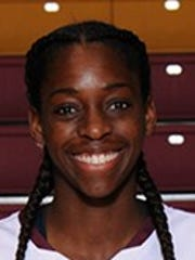 Micheline Mercelita had 13 points and seven rebounds for Midwestern State in Friday's win over St. Mary's.