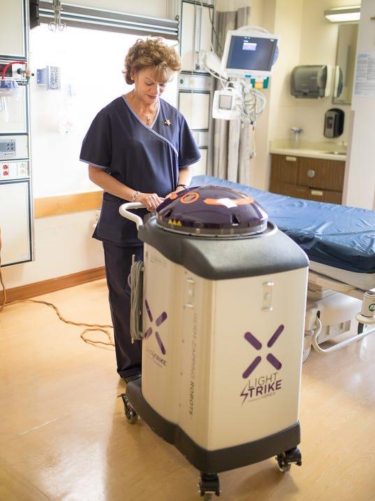 St. Peter's Xenex Robot