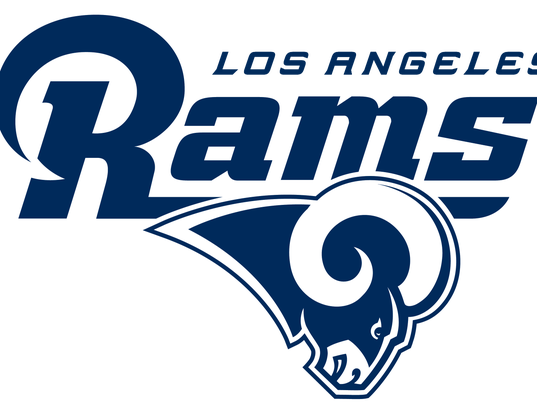 #stockphoto Rams blue and white logo 2