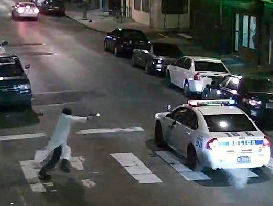 Police ambush