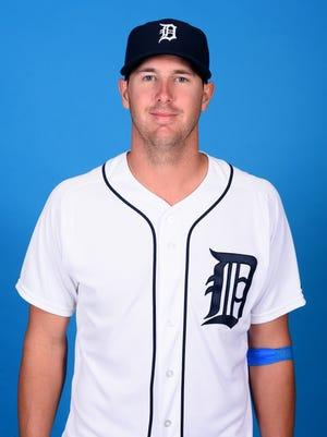 Tigers pitcher Warwick Saupold.
