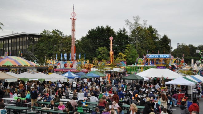 Columbus Day festival in Eastchester in 2014