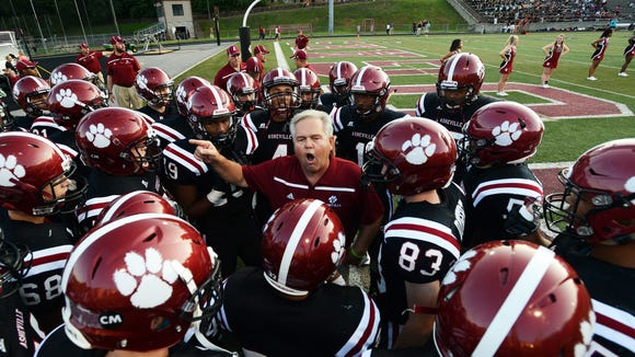 Danny Wilkins retired as Asheville High's football coach in November.