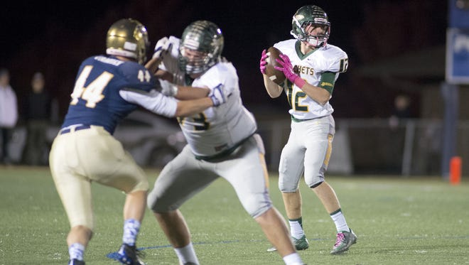 Nathan St. Onge (12) and Reynolds are part of NCPreps.com's preseason state polls