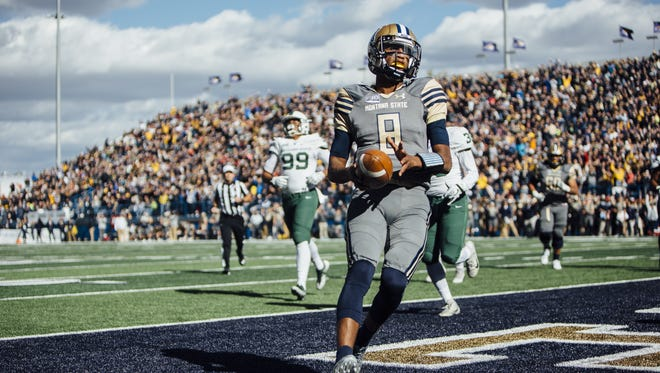 Montana State quarterback Chris Murray leads the Big Sky Conference with 940 yards rushing.