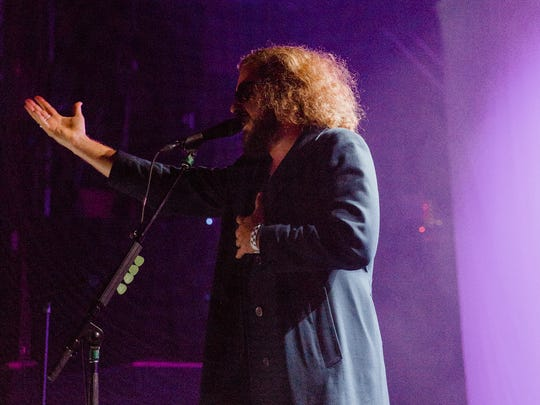 Jim James at the Festival of Disruption, May 20 at Brooklyn Steel in New York.