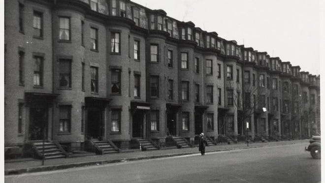 Here is how Chandler Street in the South End looked in 1938. Learn more from Digital Commonwealth at www.digitalcommonwealth.org.