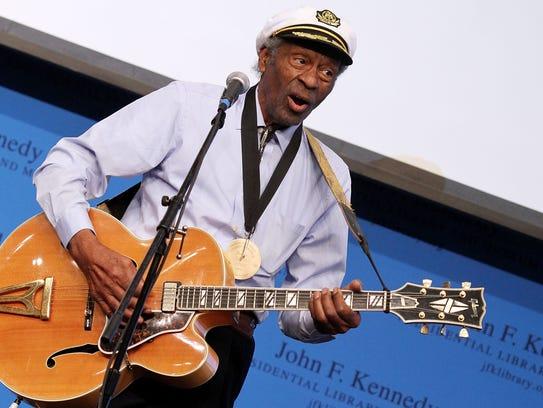 Chuck Berry, rock 'n' roll pioneer, member of Nashville