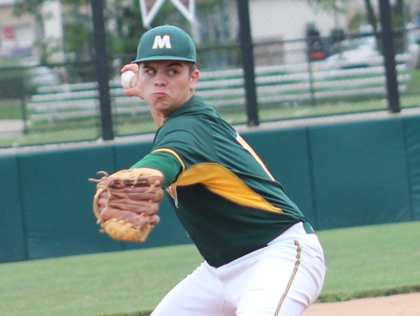 McNicholas' Sam Browning had a 5-1 record with a 1.06 ERA this season. McNicholas junior Sam Browning took a shutout into the 7th inning May 20 and eventually beat Wyoming 6-1 in a complete game tournament victory.
