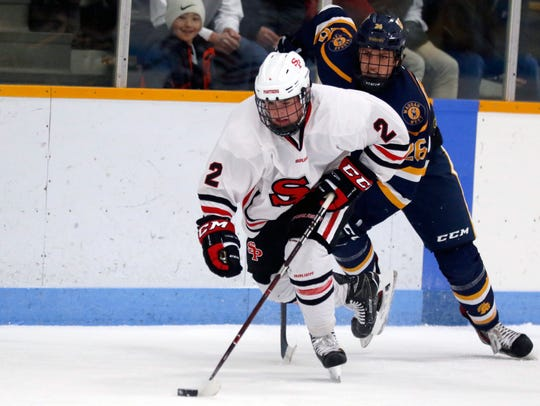 After accounting for six goals and six assists for 12 points as a junior, Carter Smigaj has become one of the top goal producers for SPASH this season. He has accounted for 18 goals and 30 points through 20 games.