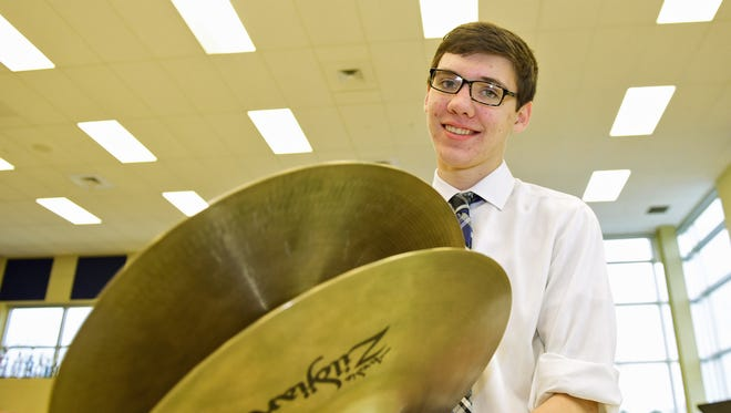 Hayden Johnson, 15, a Chambersburg Area Senior High School sophomore, is headed to the PMEA All-State Band Festival.