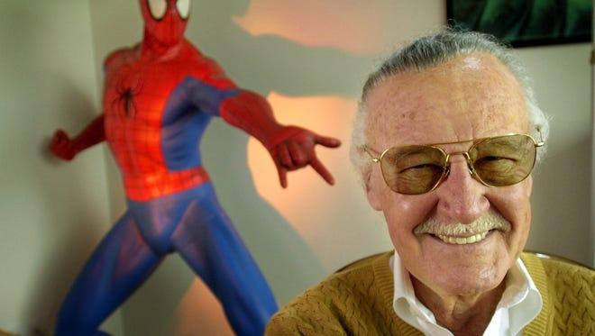 Stan Lee, creator of comic-book franchises such as Spider-Man.