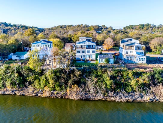 Jeremy Thompson's riverside houses are the first of