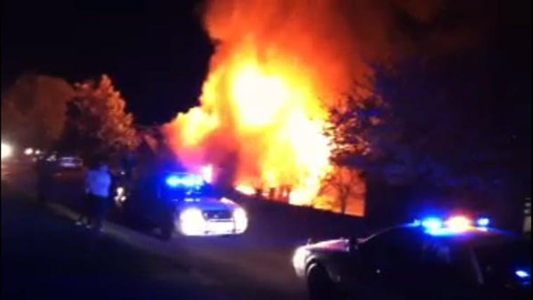 House fire in Lenoir City
