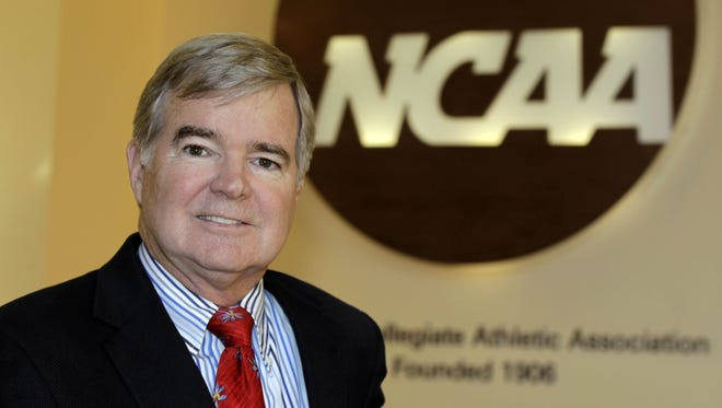 NCAA President Mark Emmert in 2010.