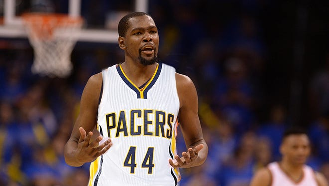 A Twitter hashtag movement to get Kevin Durant to sign with the Pacers, #KevINDYrant, is in full swing.