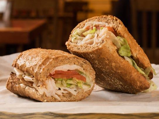 Potbelly Sandwich Shop's turkey sandwich