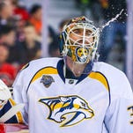 Predators' Carter Hutton ready for uncertainty of free agency