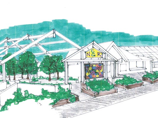 Hudson Park Children's Greenhouse Rendering