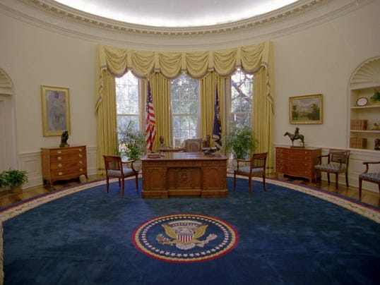 AP Oval Office Decor