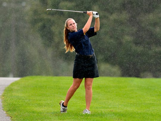 Eastern York's Alexandra Lowder finished second at the PIAA East Regional Class 2-A state qualifier at Golden Oaks Golf Club, qualifying for the state tournament.