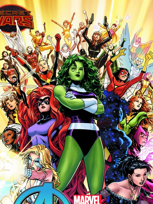 Comics-Female Avengers