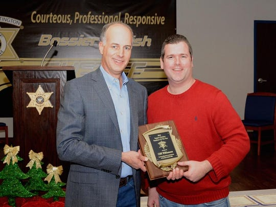 Cliff Williamson was named Support Division Employee of the Year.