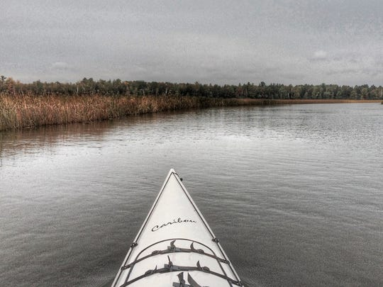 Steve Meurett took a recent kayak trip of the Rhinelander