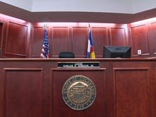 Arapahoe County courtroom