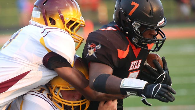 Collin England is expected to be a big part of the Ryle offense this season, and will get to show his skill in the season opener at Cooper.